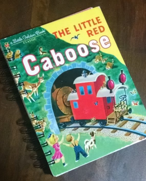 The Little Red Caboose Book Journal