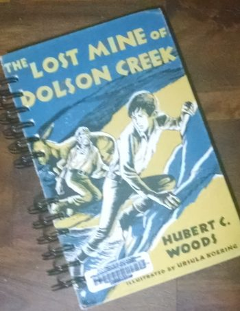 The Lost Mine of Dolson Creek Upcycled Book Journal