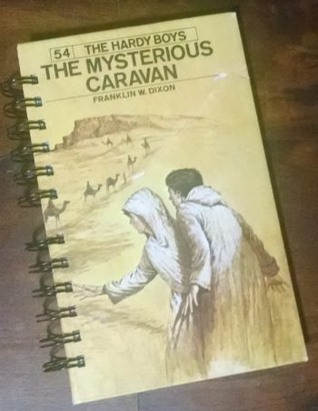 The Mysterious Caravan Recycled Book Journal