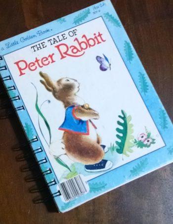 The Tale of Peter Rabbit Little Golden Book Journal