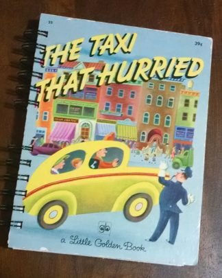 The Taxi that Hurried Recycled Book Journal