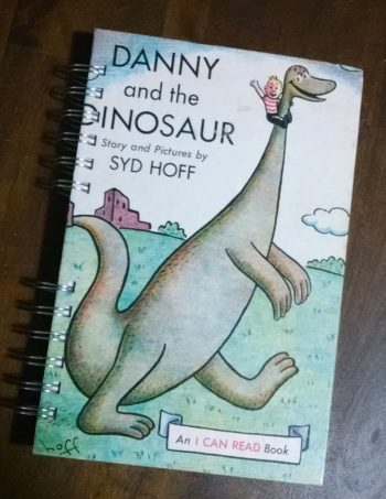 Danny the Dinosaur Recycled Book Journal