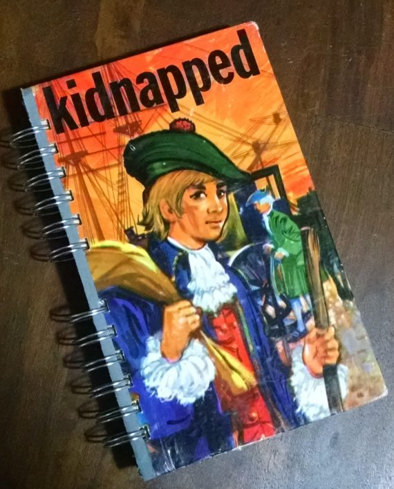Kidnapped Recycled Book Journal