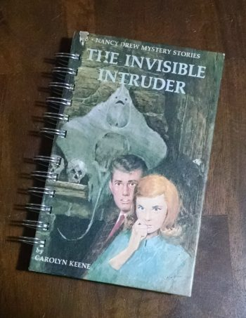 The Invisible Intruder Recycled Book Journal
