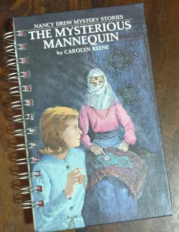 The Mysterious Mannequin Book Journal