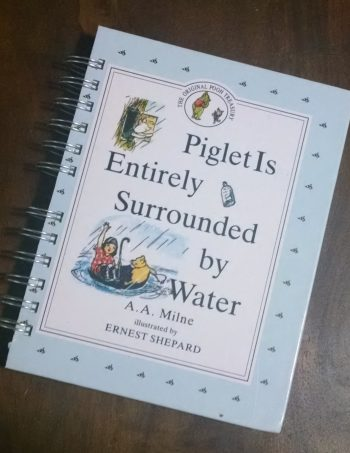 Piglet is Entirely Surrounded by Water Book Journal