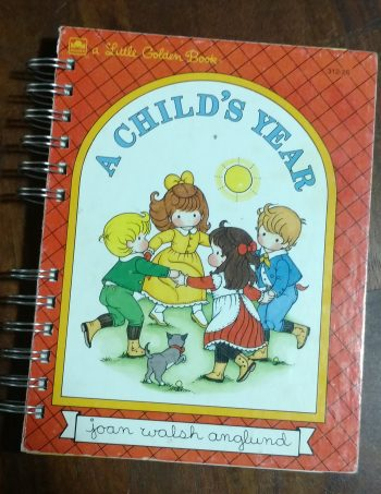 A Child's Year Book Journal