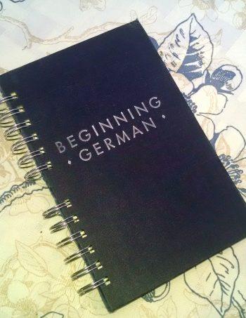 Beginning German Book Journal