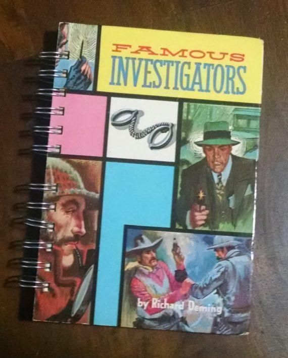 Famous Investigators Book Journal