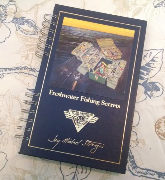 Freshwater Fishing Secrets Book Journal