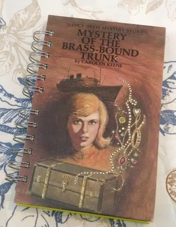 Mystery of the Brass Bound Trunk Book Journal