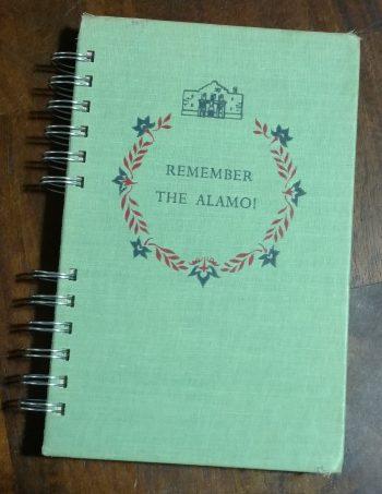 Remember the Alamo Book Journal