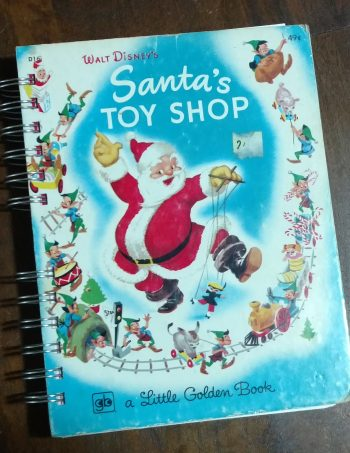 Santa's Toy Shop Book Journal