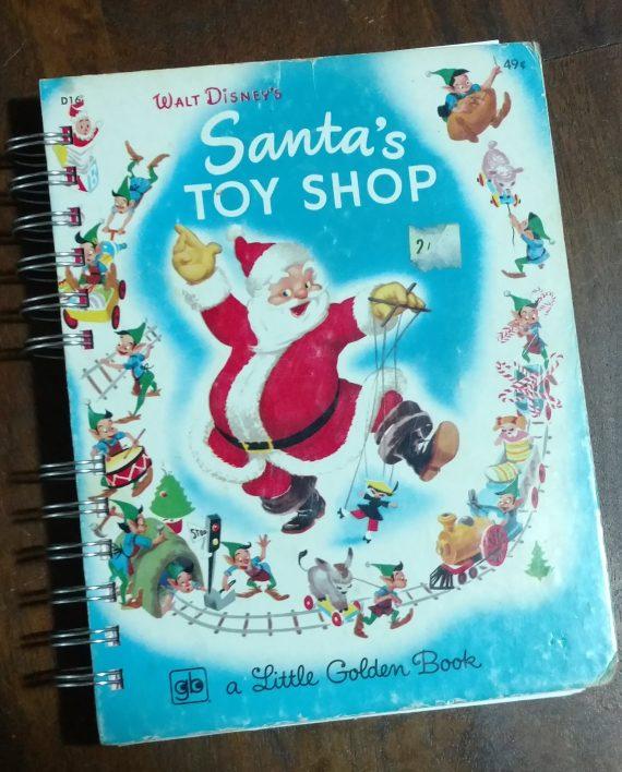 Santa's Toy Shop Book Journal