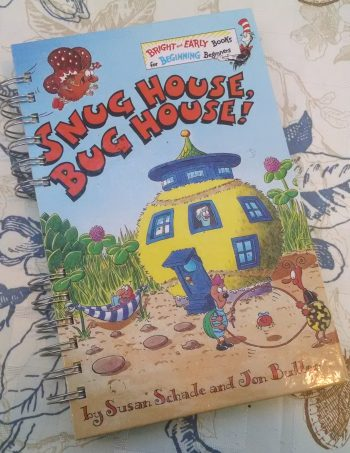 Snug House Bug House Book Journal
