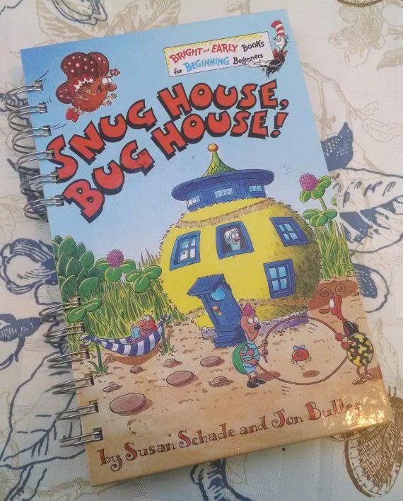 Snug House Bug House Book Journal