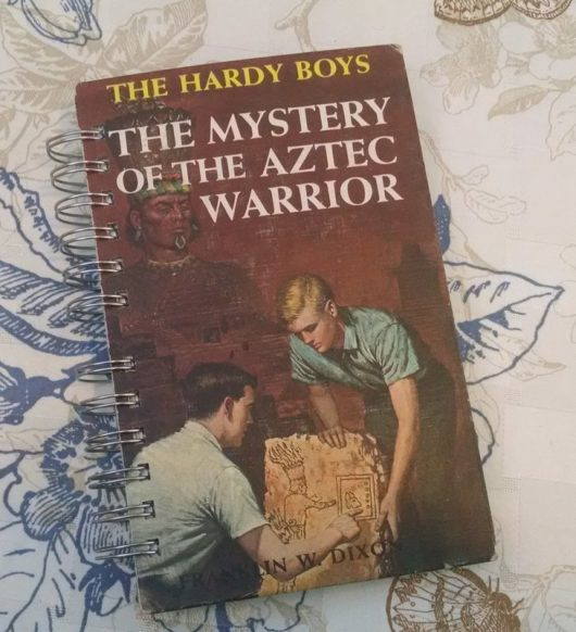The Mystery of the Aztec Warrior Book Journal