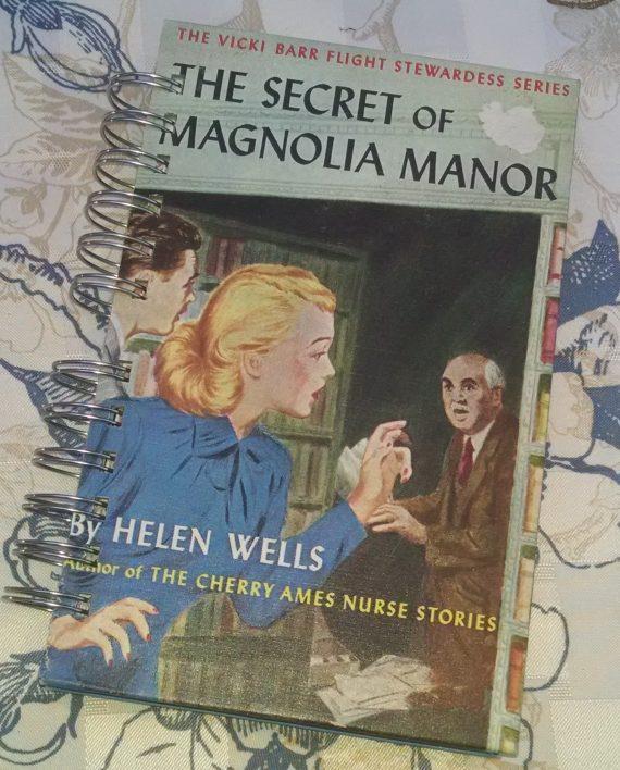 The Secret of Magnolia Manor Book Journal