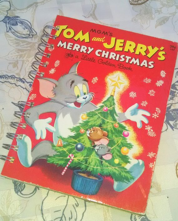 Tom and Jerry's Merry Christmas Book Journal