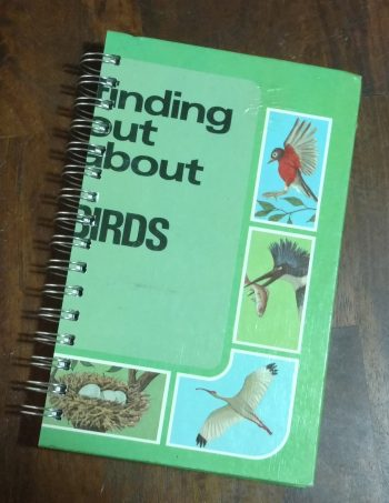 Finding out about Birds Book Journal