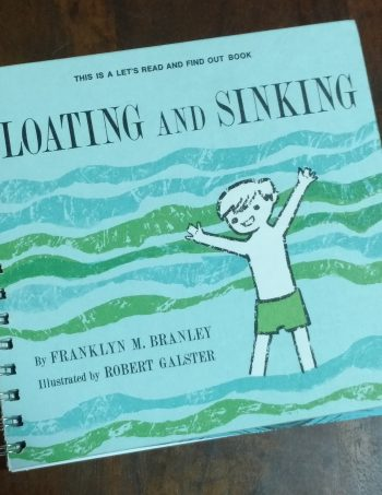 Floating and Sinking Book Journal