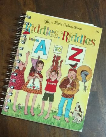 Riddles Riddles from A to Z Book Journal