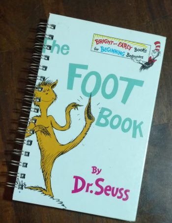 The Foot Book Book Journal