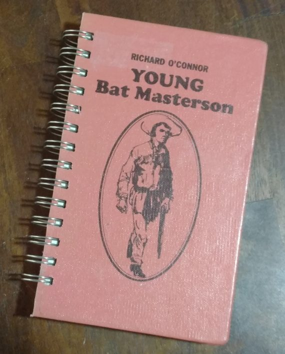 Young Bat Masterson Recycled Book Journal
