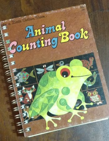 Animal Counting Book Journal