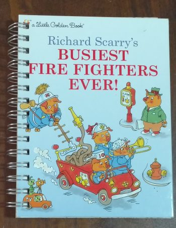 Busiest Fire Fighters Ever Book Journal