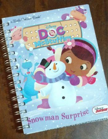 Doc McStuffins Snowman Surprise Book Journal