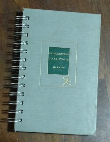 Introduction to Aristotle Book Journal