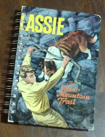 Lassie The Wild Mountain Trail Book Journal