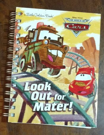 Look Out for Mater Book Journal