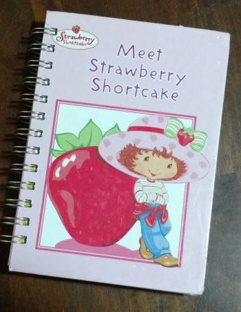Meet Strawberry Shortcake Book Journal