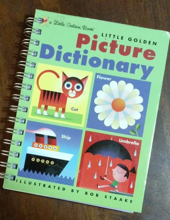 Picture Dictionary Book Journal