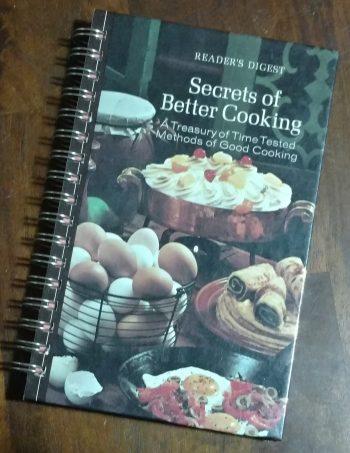Secrets to Better Cooking Book Journal