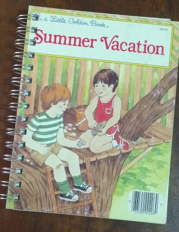 Summer Vacation Book Journal