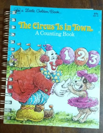 The Circus is in Town Book Journal