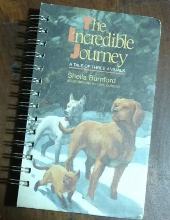The Incredible Journey Book Journal