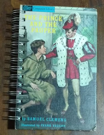 The Prince and the Pauper Book Journal