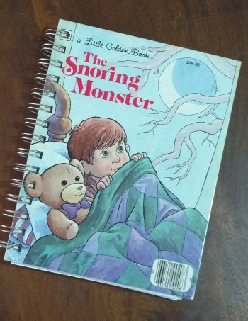 The Snoring Monster Book Journal