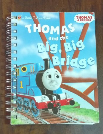 Thomas and the Big, Big Bridge Book Journal