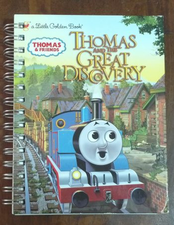 Thomas and the Great Discovery Book Journal