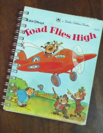 Toad Flies High Book Journal