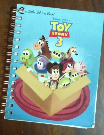 Toy Story 3 Book Journal