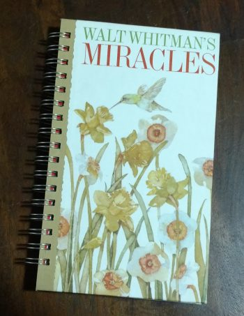 Walt Whitman's Miracles Book Journal
