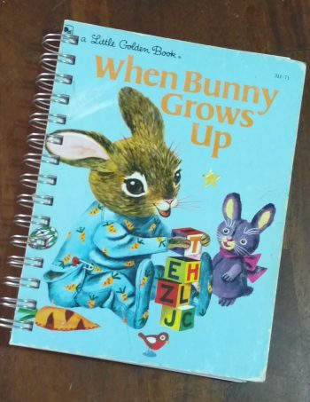 When Bunny Grows Up Book Journal