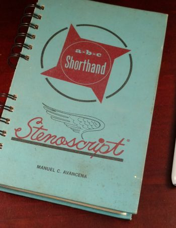 ABC Shorthand Recycled Book Journal