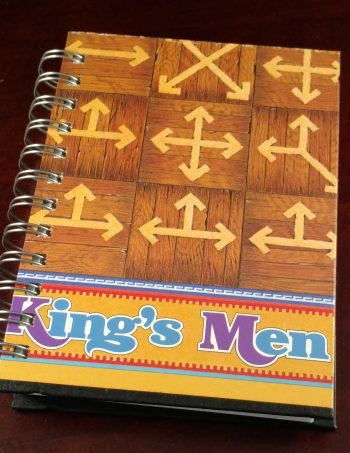 All the King's Men Game Board Notebook 1205